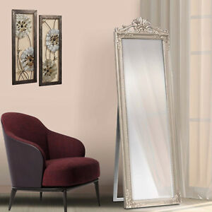 Free Floor Standing Long Cheval Mirror Full Length Bedroom