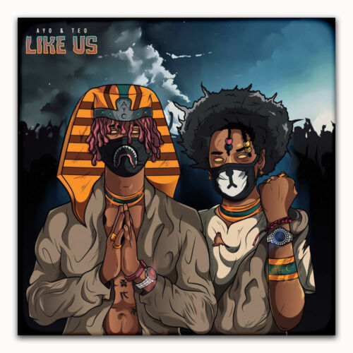 14 24x24 Poster Ayo and Teo Custom Rap Music Star Cover Album G-87
