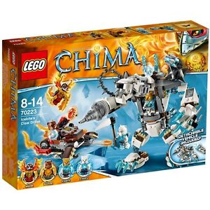 LEGO - CHIMA - 70223 - ICEBITES CLAW DRILLER - NEUF ET SCELLE - NEW AND SEALED