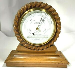 Very-Rare-1780-039-s-Aneroid-Barometer-Thermometer-W-Paviour-Peterborough-England