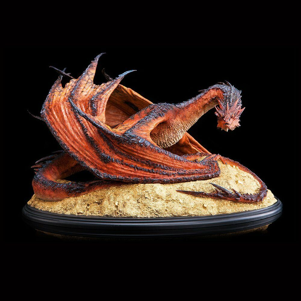Weta Collectibles The Hobbit Smaug The Terrible Statues 1 72 Neuf New