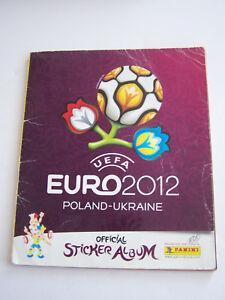 ALBUM-PANINI-EURO-2012-UEFA-POLOGNE-UKRAINE-350-540-VIGNETTES