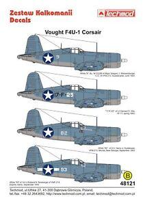 Techmod 1/48 Vought F4U-1 corsair #48121