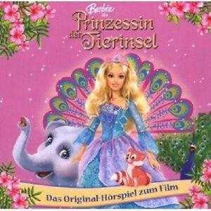 BARBIE-PRINZESSIN-DER-TIERINSEL-HORSPIEL-CD-NEU