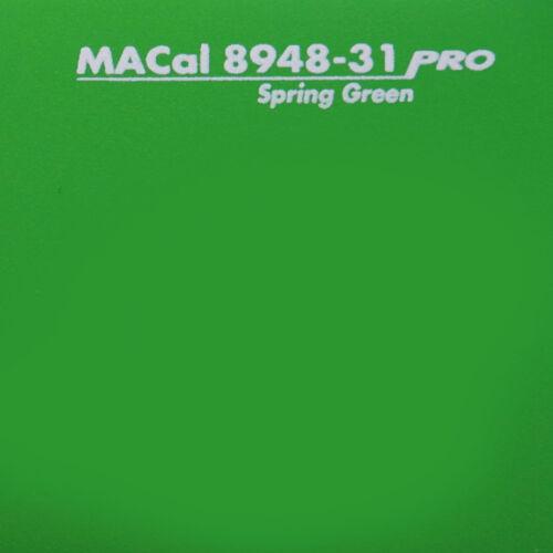 11,95 € //m Dekofolie frühlingsgrün matt Klebefolie selbstklebend 61,5 cm 1 m