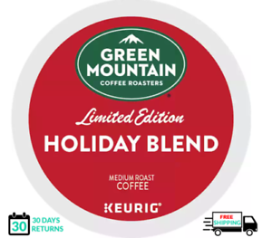 Green Mountain Holiday Blend Keurig Coffee 12 Count k-cups
