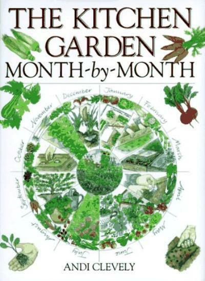The Kitchen Garden Month-by-month By A. M. Clevely. 9780715303290