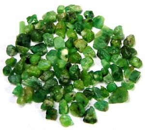 100-Natural-Green-Brazil-Small-Emerald-Wholesale-Rough-Lot-Loose-Gemstone