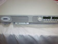 Power Supply 0-60V 0-25A GEN60-25 LAMBDA Input AC 100 - 240V  1500W CLEAN