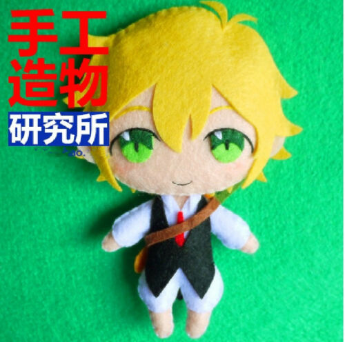 Anime The Seven Deadly Sins Nanatsu no Taizai Costume DIY Doll keychain Materia