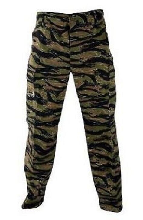 US Army PROPPER BDU Hose Feldhose TigerStripeTarnhose TigerStripeTarnhose TigerStripeTarnhose pants Large Long 49cf0a