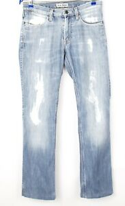 Acne-Jeans-Hommes-Max-New-Shaved-Jeans-Jambe-Droite-Taille-W28-L30-AVZ8