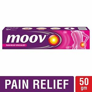 Details about Moov Pain Relief Cream 50g- Relief aches, Neck & Joint Pains,  Sprains-multi pack