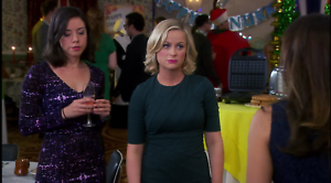Parks-and-Recreation-Leslie-Knope-Amy-Poehler-Screen-Worn-Green-Dress-COA-Rare