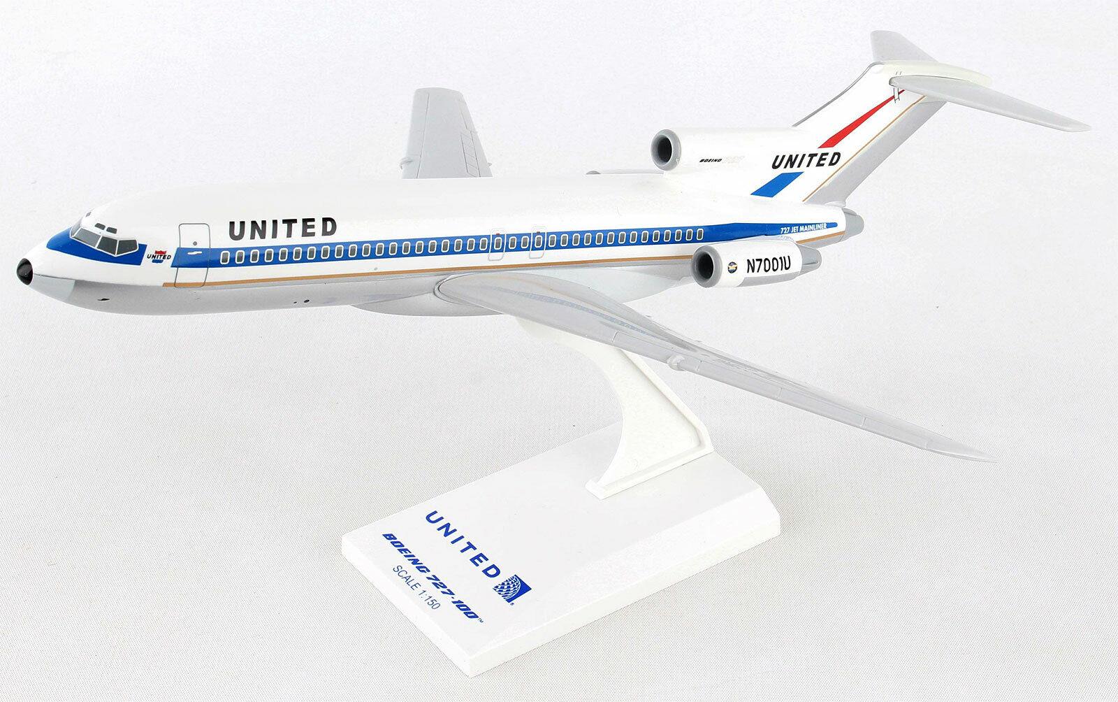 United Airlines Boeing 727-100 1 150 SkyMarks SKR896 Flugzeug Modell B727