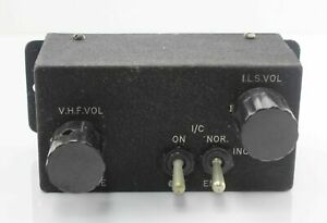 EE-Canberra-Radio-VHF-amp-ILS-Vol-Adjustment-Box-EA9-82-413-RAF-Vintage-Aircraft