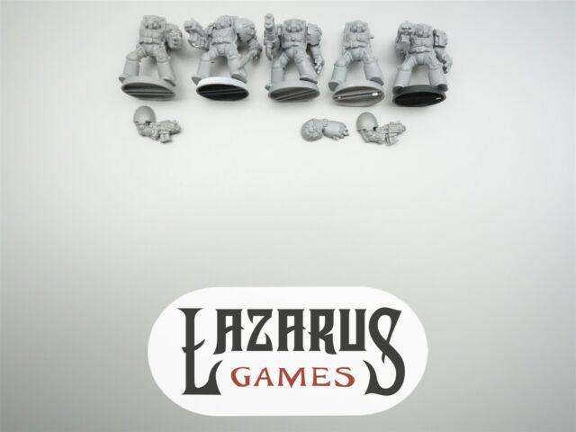 Warhammer 40K Space Marines - 5 Terminators (oop plastic)