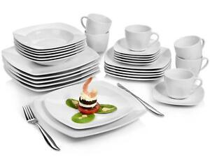 Das Bild Wird Geladen Saenger Kombiservice 039 Markant 039 Porzellan  Geschirr Set