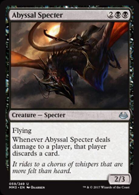 MTG Magic - (U) Modern Masters 2017 - Abyssal Specter FOIL - NM/M