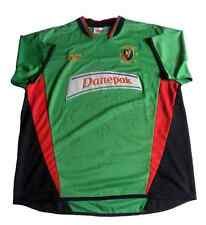 Glentoran FC 2004 / 2005  Home Kit Jersey Shirt Autographed