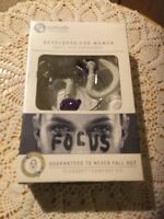 Yurbuds Small Sized Earphones Designed For Women. Gray. Sport.