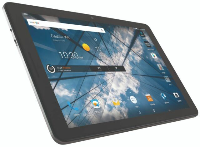 super popular 98575 fc3e8 ZTE K92 AT&T Primetime 10-inch 32GB Tablet GSM Unlocked - Wifi + 4G LTE  Black
