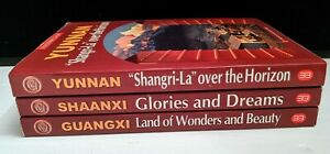 Panoramic-China-3-book-lot-Yunnan-Guangxi-Shaanxi-PB-2006