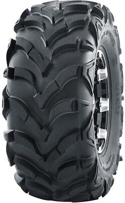 One Premium ATV//UTV Tire 25x10-12 25x10x12 6PR Wanda 375 Ultra Deep Tread Mud