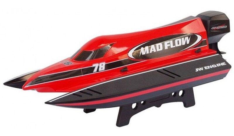 shopping online di moda Motoscafo Catamarano Radiocouomodato Radiocouomodato Radiocouomodato Joysway Mad Flow F1 Brushed 2Ch 2.4Ghz  prezzi eccellenti