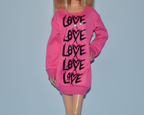 Assorted Lot of Sweater Casual Tee Shirt Dresses Genuine BARBIE Fashion