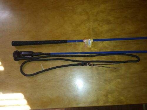 TOUGH-1 HORSE 3/' YOUTH TRAINING CARROT HANDY STICK W//STRING FOR PARELLI METHOD