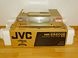 JVC HR-S9500 High-End S-VHS Videorecorder in OVP w.NEU, 2J. Garantie