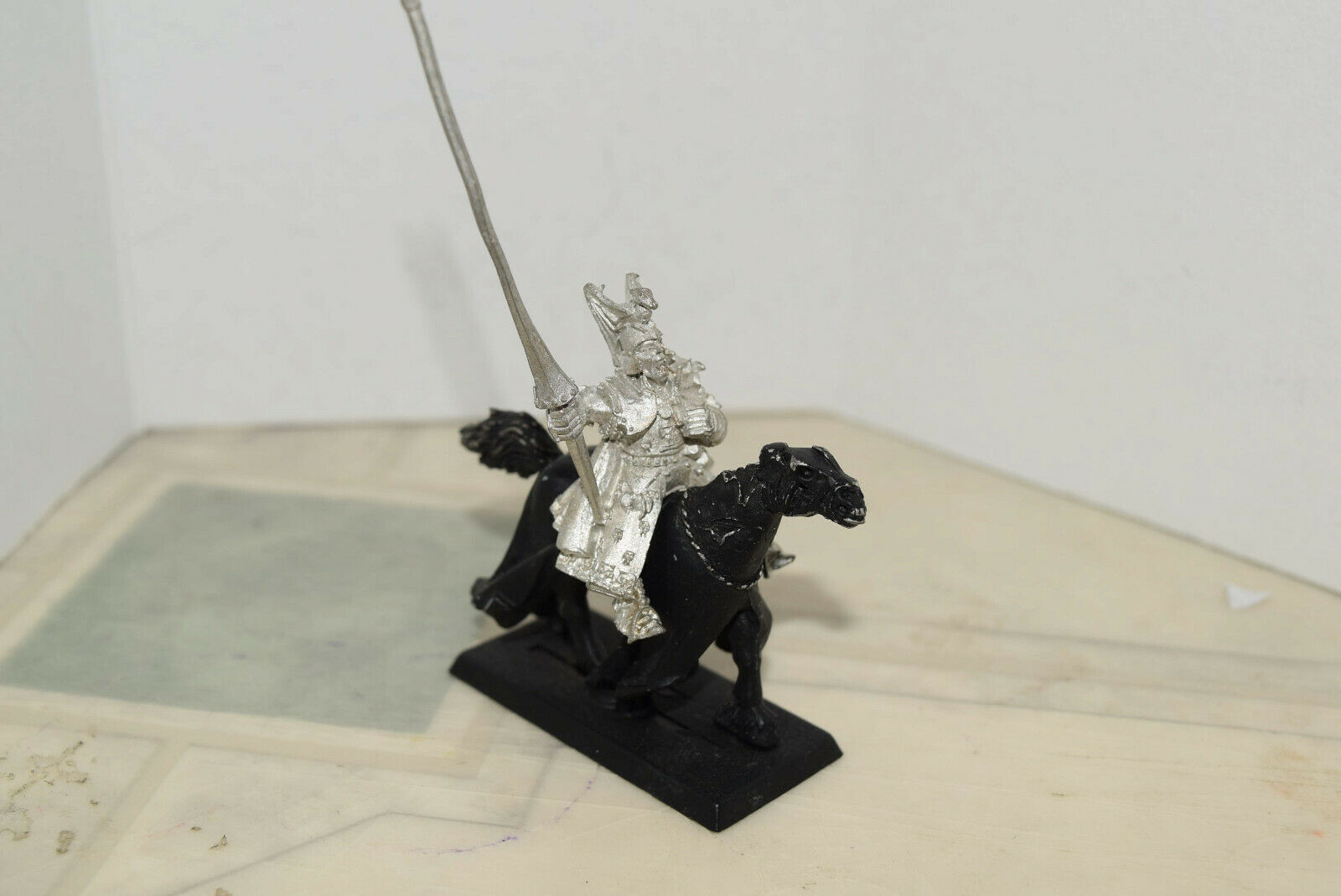 Warhammer Undead Vampire Counts Counts Counts Unreleased Blood Dragon Vampire Lord Mounted b27394