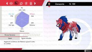 Zacian-et-Zamazenta-6IV-niveau-100-Pokemon-epee-et-bouclier-Tout-Pokemons-dispos