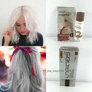 Dcash Permanent Hair Color Cream Grey Highlight Ha910 White Hair