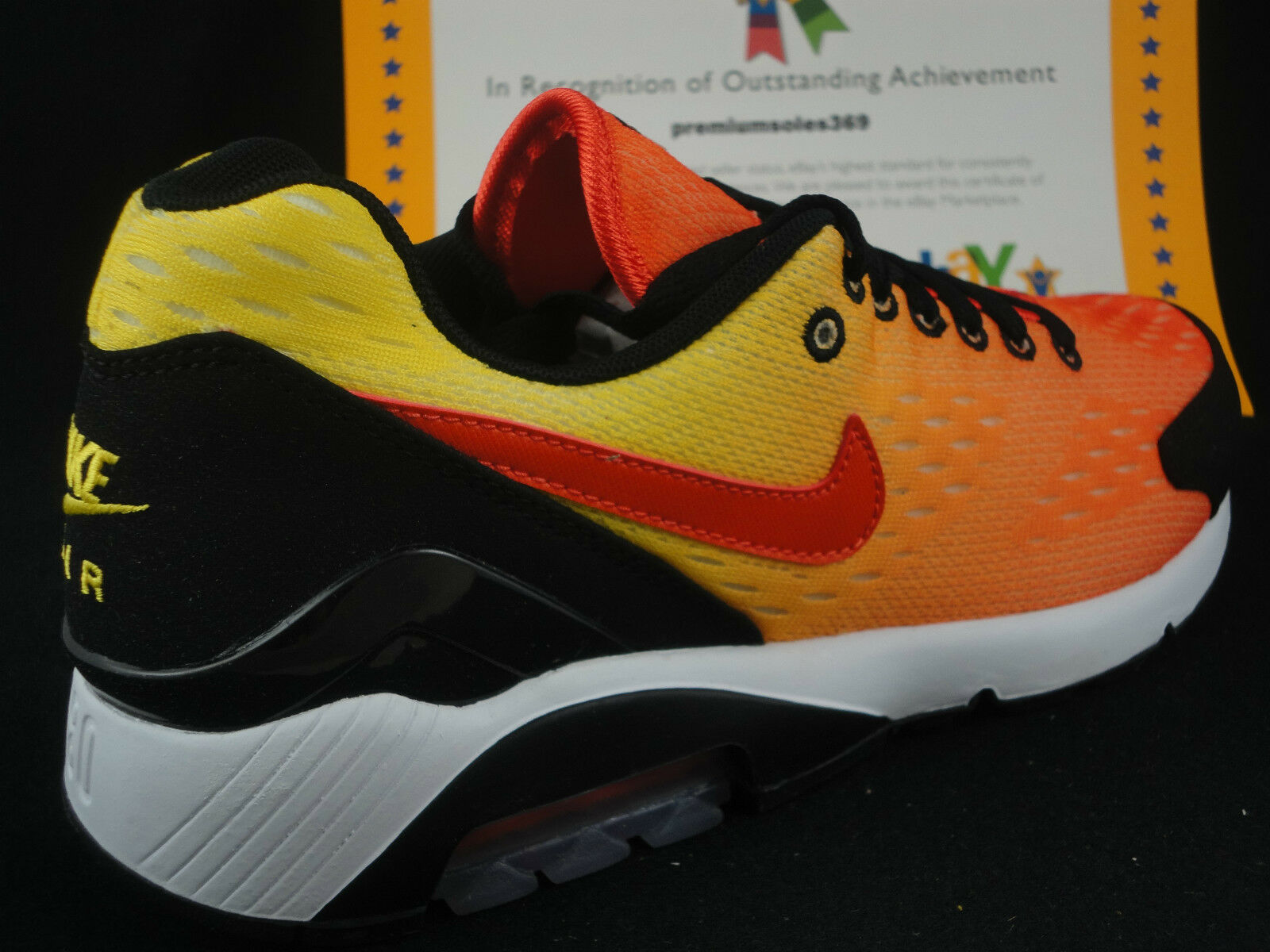 Nike Air Max 180 EM, Size 10.5, Sunset Pack, Engineered Mesh
