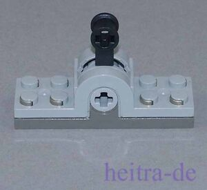 LEGO-Technik-Pol-Umschalter-9-Volt-hellgrau-Pole-Reverser-6551c01-NEUWARE