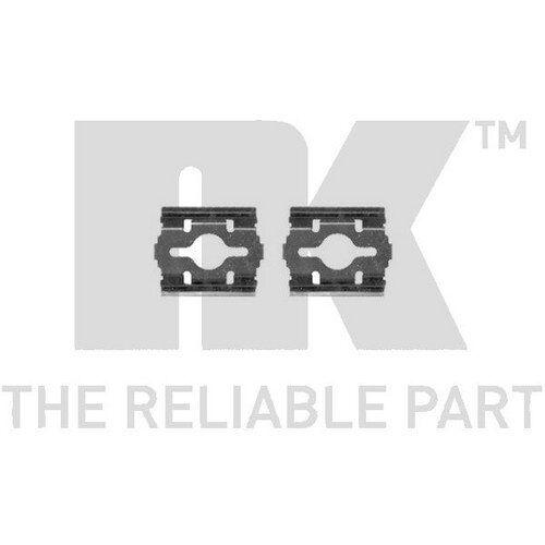 Scheibenbremsbelag für Bremsanlage Vorderachse TRISCAN 8105 101638 Zubehörsatz