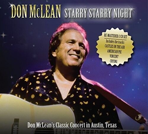 Don McLean - Starry Starry Night: Live In Austin [New CD]