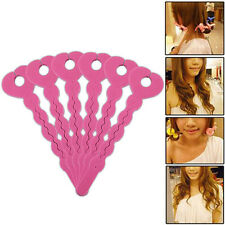 Useful 12Pcs Hair Styling Sponge Hair Curler Roller Strip Heatless Style Tools