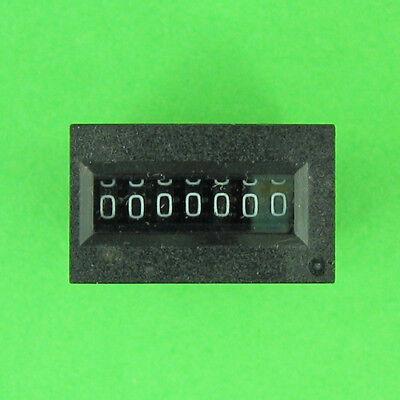 Kubler K07.80-5VDC 7-Digit Non-Resettable Impulse Counter Coin-Op /& Vending