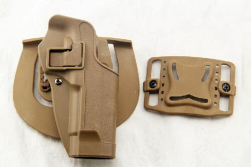 Cqb Army Blackhawk Tactical Right Hand Holster Paddle For M92 Bereta Pistol by Unbranded