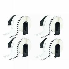 4rolls Dk2205 Address Labels With4 Frame Compatible For Brother Ql 570 Printer