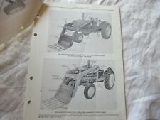 John Deere 35 Farm Loader Parts Catalog Book Manual