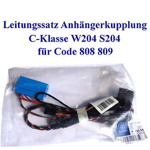 frequence-de-ligne-Attelage-remorque-MERCEDES-CLASSE-C-W204-S204-Cable-gestion