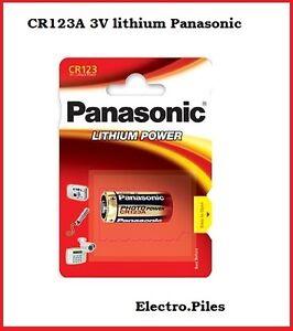 Piles-speciales-photos-CR123-lithium-Panasonic-2-PILES-ACHETEES-1-OFFERTE