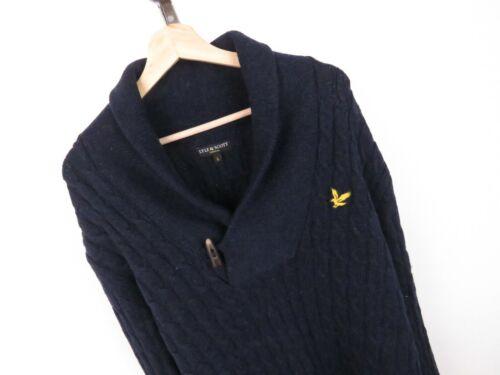 Lyle T027 lambswool Cable Scott Taglia Jumper Original L Sweater 100 OqBqd