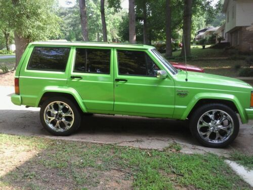 84 01 Jeep Cherokee 4Pc Inner /& Outer Rocker Panel Kit 84 90 Wagoneer NIB!! XJ