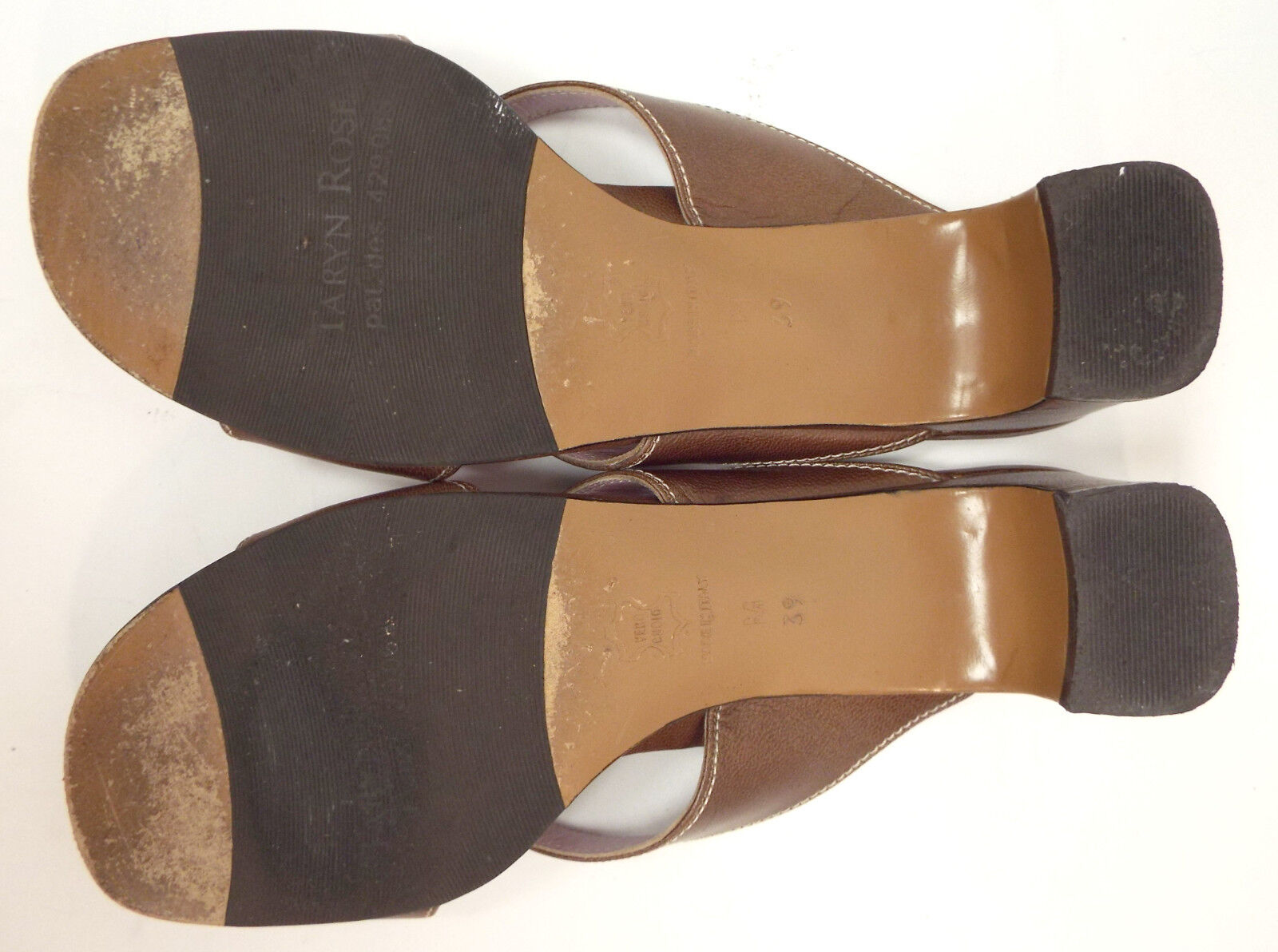 Original Braun TARYN ROSE Größe 8.5 Braun Original Cross Strap Slide Sandales Schuhes 39 47d699