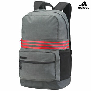 Details About Adidas 3 Stripes Medium Backpack Sports Work School Bag With Laptop Compartment